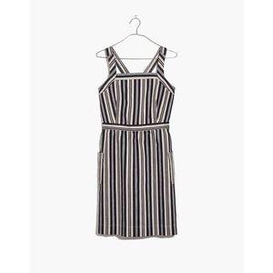 MADEWELL Apron Mini Dress in Evelyn Stripe